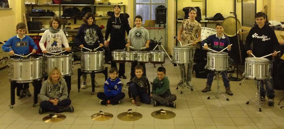 allievi sezione percussioni