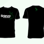 t-shirt Brianza Parade Band di colore nero