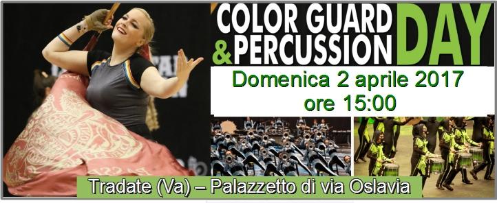 Color Guard & Percussion Day 2017