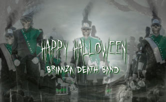 happy halloween marching band