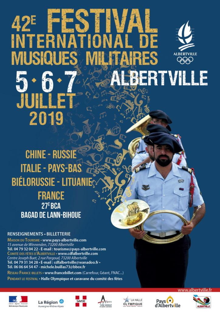 festival musiques militares albertville