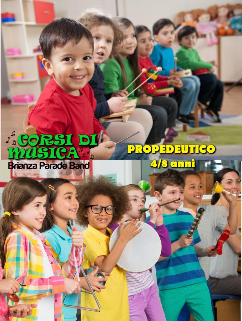 propedeutico musica bambini veduggio