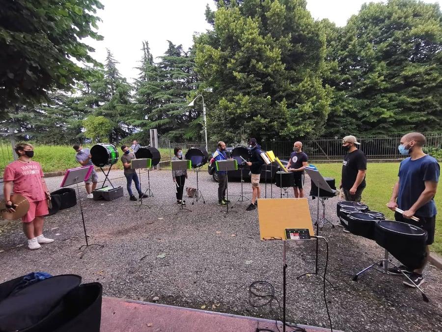 drumline brianza parade band